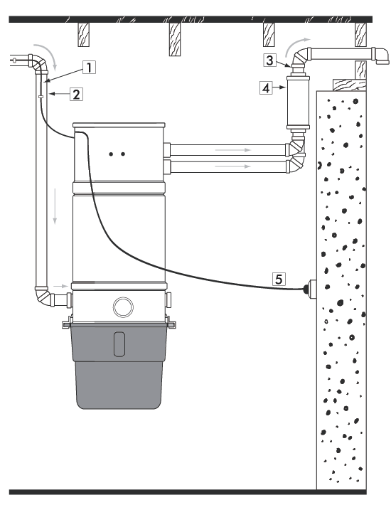 Odkurzacz centralny IB-CV 24